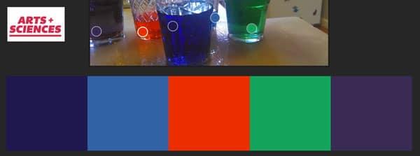 Food Coloring Color Palette on Kuler